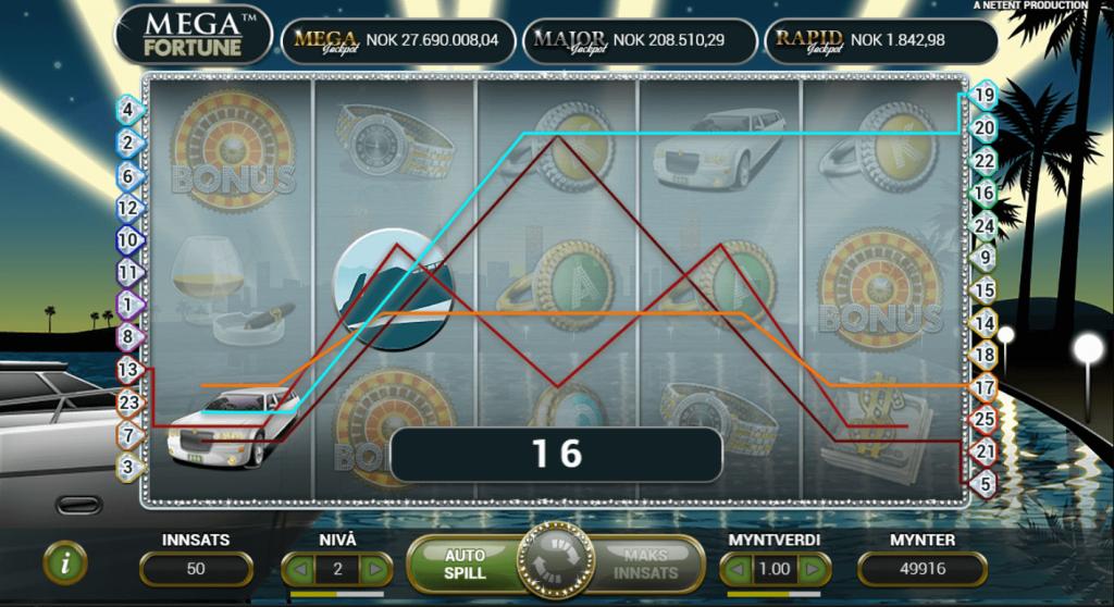 online casino slots mega fortune