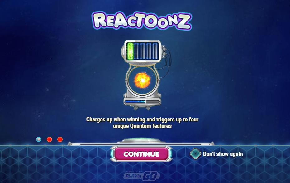 Reactoonz - Monster i verdensrommet kan gi penger!