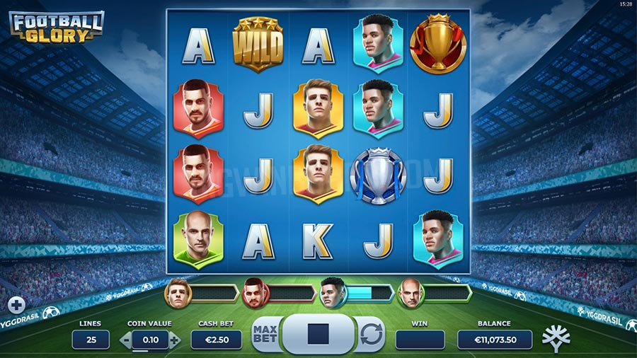 Football Glory - En fotball slot fra Yggdrasil Gaming