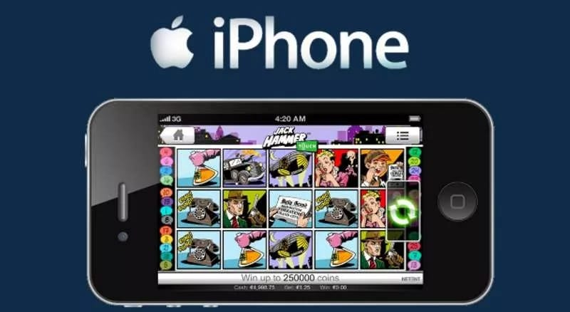 iPhone casino - Godt mobilcasino