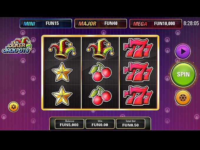 Joker Jackpots - En klassisk spilleautomat med jackpot